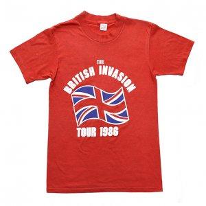 1986 BRITISH INVASION サーチャーズ ジェリー&ペースメイカーズ ヴィンテージTシャツ 【S】