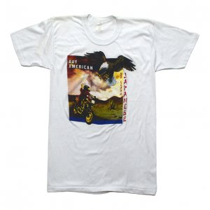 80'S UNKNOWN ハーレーダビッドソンイーグル HONDA ヴィンテージTシャツ 【M】