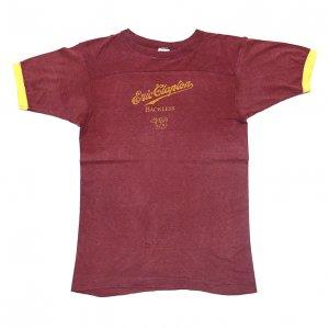 1978 ERIC CLAPTON エリッククラプトン プロモーション用 BACKLESS ヴィンテージTシャツ 【M】