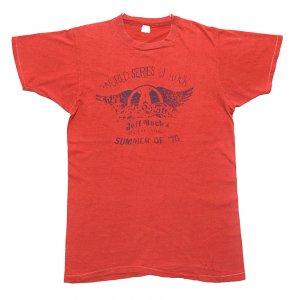 1976 AEROSMITH エアロスミス ジェフベック リックデリンジャー ヴィンテージTシャツ 【L】