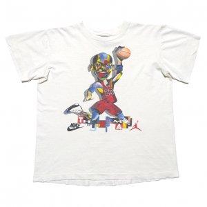 90'S NIKE ナイキ ジョーダン AIR JORDAN 10 ヴィンテージTシャツ 【S相当/ボーイズXL】