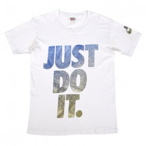 90'S NIKE ナイキ JUST DO IT USA製 銀タグ ヴィンテージTシャツ 【S】