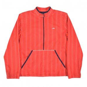 80'S FILA/フィラ イタリア製 赤ベース ヴィンテージプルオーバージャージ 【S相当】