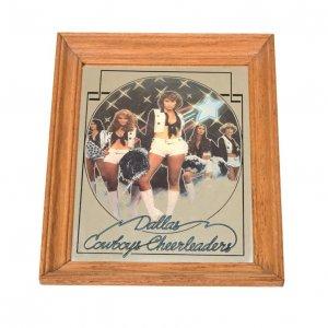 70'S DALLAS COWBOYS CHEERLEADERS ダラスカウボーイズ US雑貨 ヴィンテージ壁掛けミラー