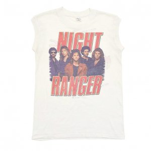 1984 NIGHT RANGER ナイトレンジャー MIDNIGHT MADNESS ヴィンテージTシャツ 【M】