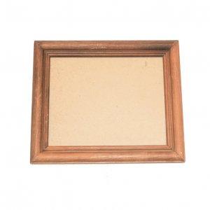 USAヴィンテージ ガラス入 木製フォトフレーム  (HE1081)