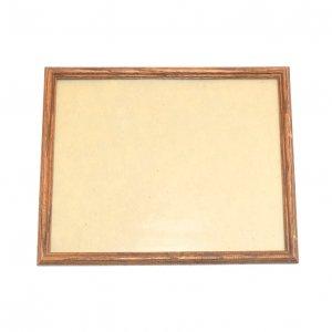 USAヴィンテージ ガラス入 木製フォトフレーム  (HE1087)