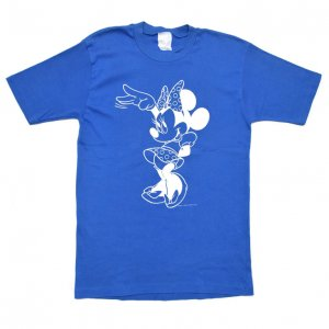 80'S MINNIE MOUSE ミニーマウス ディズニーオフィシャル ヴィンテージTシャツ 【L】