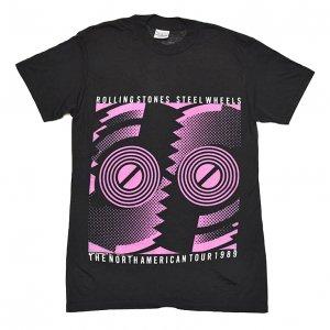 1989 ROLLING STONES ローリングストーンズ STEEL WHEELS ヴィンテージTシャツ 【M】