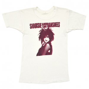 80'S SIOUXSIE & THE BANSHEES スージー&ザ・バンシーズ ヴィンテージTシャツ 【S相当】