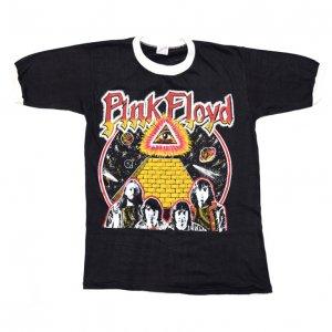 70'S PINK FLOYD ピンクフロイド パキスタン製 プロビデンスの目 デッドストック ヴィンテージTシャツ ?A 【L】