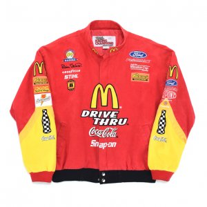 <img class='new_mark_img1' src='https://img.shop-pro.jp/img/new/icons50.gif' style='border:none;display:inline;margin:0px;padding:0px;width:auto;' />90'S RACING CHAMPIONS APPAREL McDONALD'S FORD レーシングジャケット 【L】