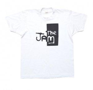 80'S THE JAM ザ・ジャム バンドロゴ ポールウェラー ヴィンテージTシャツ 【XL】