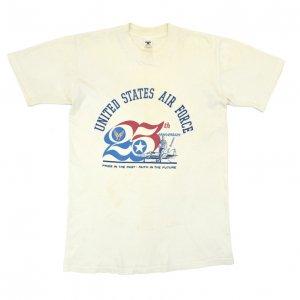 70'S U.S.AIR FORCE アメリカ空軍 25周年記念 ヴィンテージTシャツ 【M】