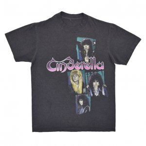 80'S CINDERELLA シンデレラ SHAKES THE USA ヴィンテージTシャツ 【M相当】