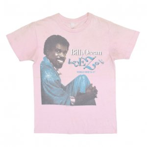 86-87 BILLY OCEAN ビリーオーシャン LOVE ZONE ヴィンテージTシャツ 【M相当】