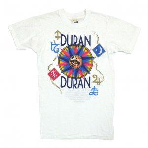 1984 DURAN DURAN デュランデュラン SEVEN AND THE RUGGED TIGER ヴィンテージTシャツ 【S】