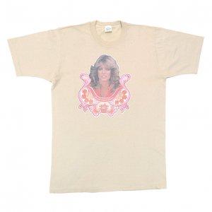 70'S FARRAH FAWCETT ファラフォーセット チャーリーズエンジェル ヴィンテージTシャツ 【L】