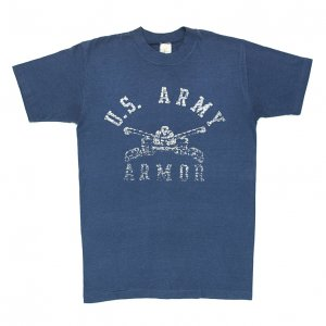 <img class='new_mark_img1' src='https://img.shop-pro.jp/img/new/icons50.gif' style='border:none;display:inline;margin:0px;padding:0px;width:auto;' />80'S U.S.ARMY ARMOR 機甲部隊 ヴィンテージTシャツ 【M相当】