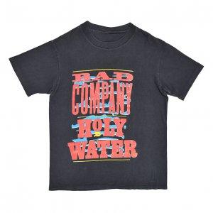 1991 BAD COMPANY×DAMN YANKEES バッドカンパニー×ダムヤンキース HOLY WATER ヴィンテージTシャツ 【L相当】