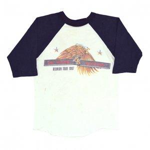 1987 DOOBIE BROTHERS ドゥービーブラザーズ REUNION TOUR ヴィンテージTシャツ 【L相当】