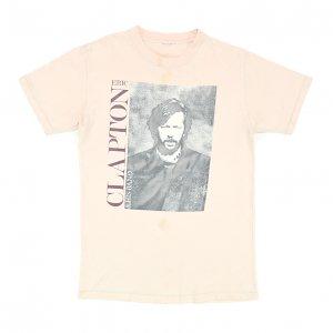 1985 ERIC CLAPTON エリッククラプトン BEHIND THE SUN ヴィンテージTシャツ 【M相当】