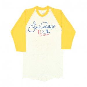 1978 LINDA RONSTADT リンダロンシュタット USA '78 TOUR ヴィンテージTシャツ 【L】