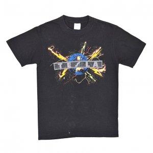 1987 TESLA テスラ MECHANICAL RESONANCE ヴィンテージTシャツ 【M】