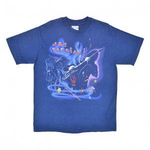 1990 JOE SATRIANI ジョーサトリアーニ DREAMING IN A BLUE ヴィンテージTシャツ 【L】