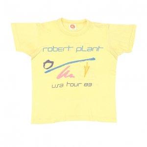 1983 ROBERT PLANT ロバートプラント USA 83 ヴィンテージTシャツ 【S】