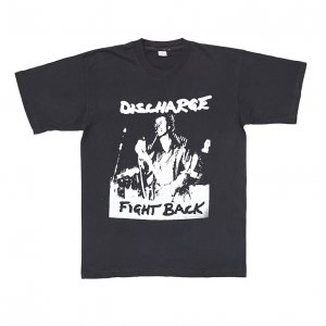 80'S DISCHARGE ディスチャージ FIGHT BACK ヴィンテージTシャツ 【M】
