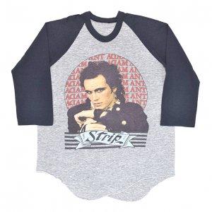 1984 ADAM ANT アダムアント STRIP ヴィンテージTシャツ 【XL相当】