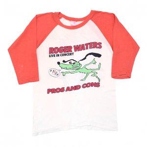 1985 ROGER WATERS ロジャーウォーターズ PROS AND CONS ピンクフロイド ヴィンテージTシャツ 【M相当】