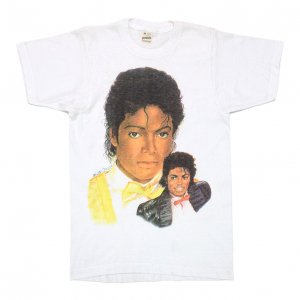 <img class='new_mark_img1' src='https://img.shop-pro.jp/img/new/icons50.gif' style='border:none;display:inline;margin:0px;padding:0px;width:auto;' />1984 MICHAEL JACKSON マイケルジャクソン ポートレート ヴィンテージTシャツ 【M】