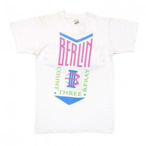 1986 BERLIN ベルリン TAKE MY BREATH AWAY ヴィンテージTシャツ 【S】