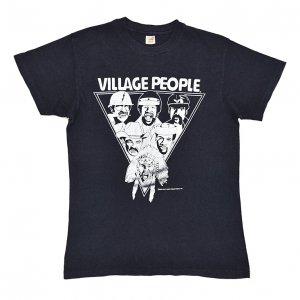 1979 VILLAGE PEOPLE ヴィレッジピープル IN THE NAVY ヴィンテージTシャツ 【M】