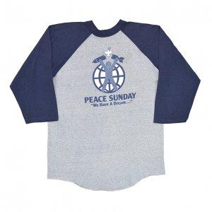 1982 PEACE SUNDAY CONCERT ジャクソンブラウン スティーヴィーワンダー ヴィンテージTシャツ 【L】