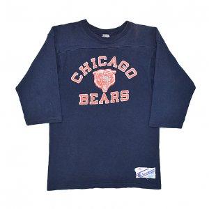 80'S CHAMPION チャンピオン NFL CHICAGO BEARS トリコタグ ヴィンテージフットボールTシャツ 【M】