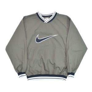 <img class='new_mark_img1' src='//img.shop-pro.jp/img/new/icons50.gif' style='border:none;display:inline;margin:0px;padding:0px;width:auto;' />90'S NIKE ナイキ ウインドブレーカー ピステ プルオーバー ナイロンジャケット 【M】