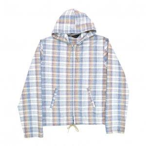 60'S SPORTSWEAR マドラスチェック フード付き ヴィンテージジャケット 【L相当】