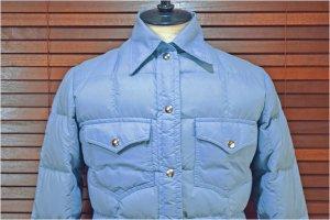 70'S L.L.BEAN/L.L.ビーン (筆記体タグ)   ダウンシャツジャケット 【XS相当/レディース S】