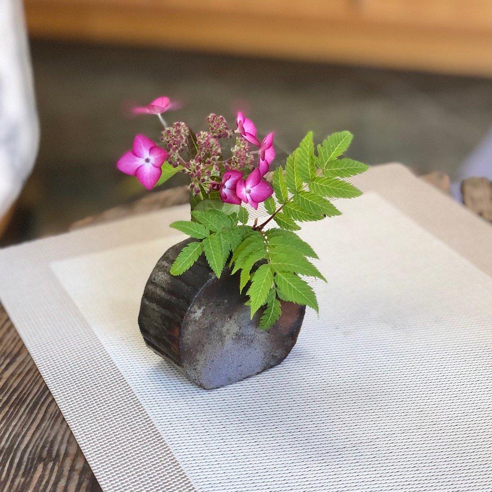 ミニ花瓶 今川焼き