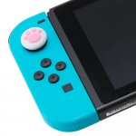 CYBER・アナログスティックカバー ねこにゃん(SWITCH Joy-Con用)〈白〉<img class='new_mark_img2' src='//img.shop-pro.jp/img/new/icons6.gif' style='border:none;display:inline;margin:0px;padding:0px;width:auto;' />