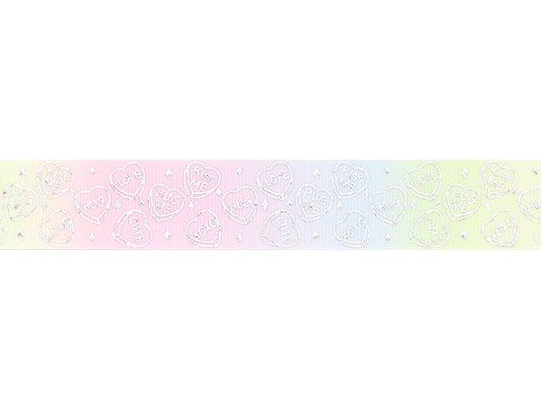 グログランリボン ホログラム/ハートレ...