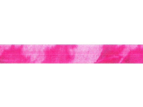 ストレッチテープ(FOE) 15mm幅 タイダイプリント ショッキングピンク系