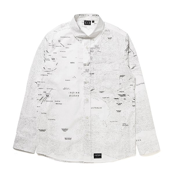 L/S DOT MAP SHIRTS