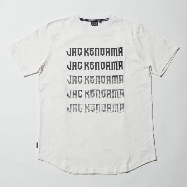 JAC S/S FADE LOGO TEE [ジャク ショートスリーブ フェード ロゴ Tシャツ]