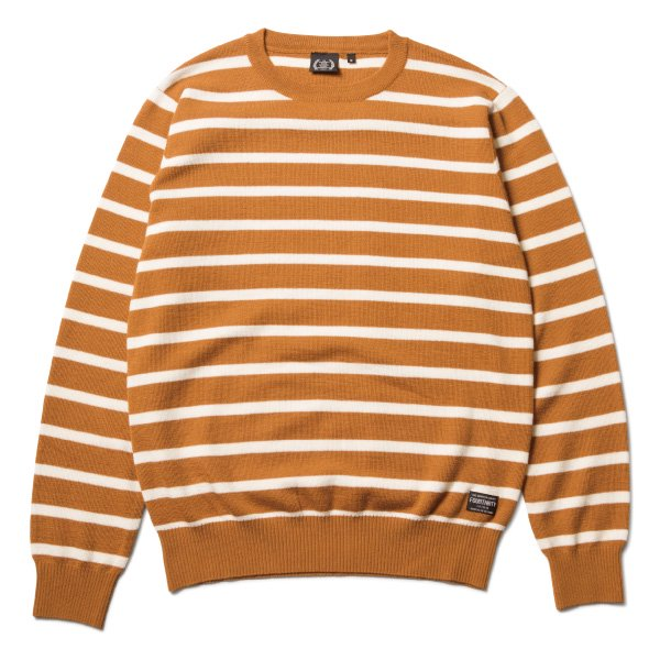 L/S BORDER SWEATER