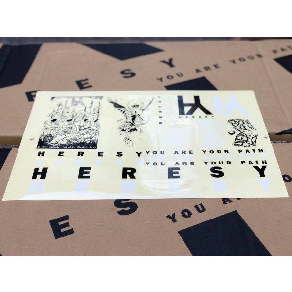 HERESY Stickers Sheet