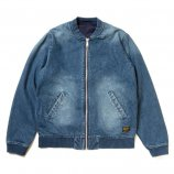 DENIM LITE JACKET W/PRINT